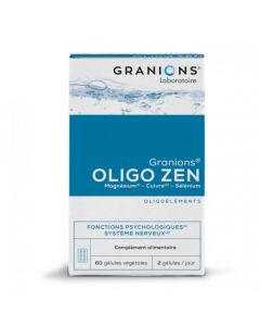 Granions Oligo Zen Fonctions Psychologiques Système Nerveux 60 Gélules