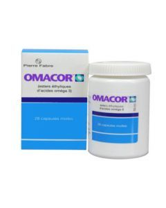 Omacor 1000mg 28 Capsules Molles