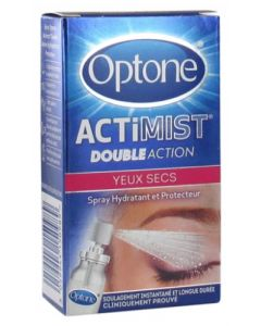 Optone Actimist Spray Oculaire 2 en 1 - 10ml