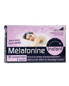 Exopharm Mélatonine Instant étui de 30 comprimés édulcorés