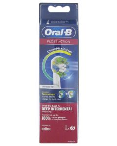 Oral-B Floss Action Clean Maximizer 3 Brossettes