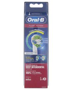 Oral-B Floss Action Clean Maximizer 3 Brossettes