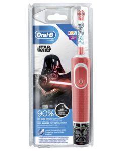 Oral B Kids Brosse à Dents Electrique Rechargeable Star Wars