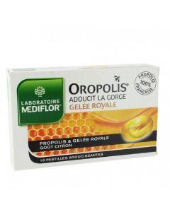Oropolis Pastilles Adoucissantes Propolis et Gelée Royale