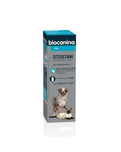 Biocanina Otostan ORL Chien et Chat 15ml