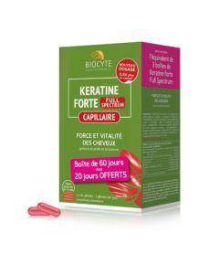 Biocyte Kératine Forte Anti-Chute 120 gélules
