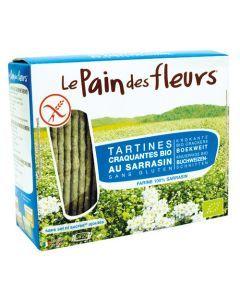 Pain des Fleurs Tartine Sarrasin Sans Sel Sans Gluten Bio 150g