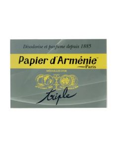 Papier d'Arménie Carnet Triple 36 lamelles
