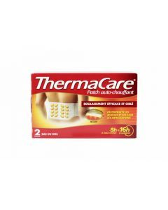 Thermacare Patch Bas du Dos Auto-Chauffant x 2