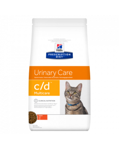 Hill's Prescription Diet C/D Multicare Feline au Poulet 1,5kg