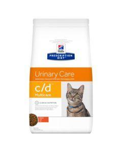Hill's Prescription Diet C/D Multicare pour Chat au Poulet 5kg