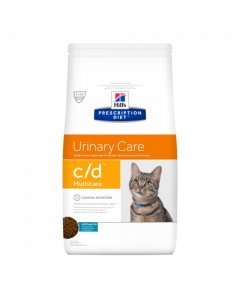 Hill's Prescription Diet Feline C/D Multicare au Poisson 1,5kg