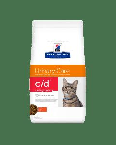 Hill's Prescription Diet Urinary Stress C/D pour CHat au Poulet 8kg