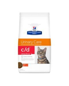 Hill's Prescription Diet C/D Feline Urinary Stress au Poulet 4kg
