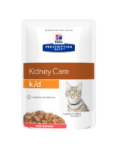 Hill's Prescription Diet Feline K/D au Saumon 12 x 85g