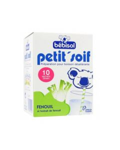 Petit'Soif Poudre Boisson Fenouil 10 Sachets