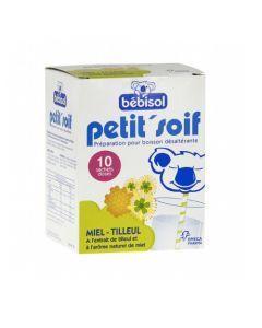 Petit'Soif Poudre Boisson Miel Tilleul 10 Sachets