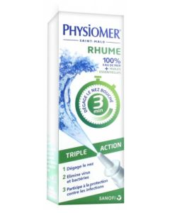 Physiomer Rhume Triple Action Spray Nasal 20ml