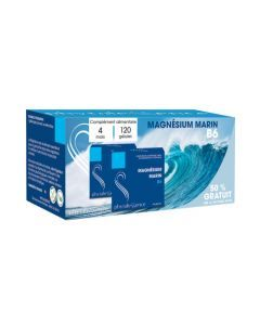 Phytalessence Magnésium Marin B6 Lot de 2x60 Gélules