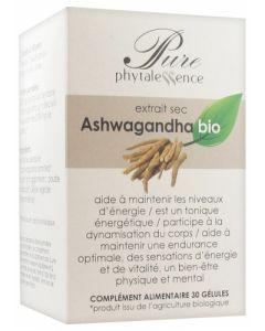Phytalessence Pure Ashwagandha Bio 30 Gélules