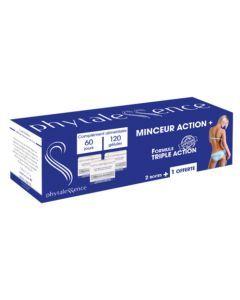 Phytalessence Minceur Action+ Formule Triple Action 120 Gélules