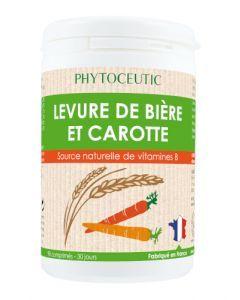 Phytoceutic Levure de bière et Carotte 90 comprimés