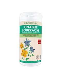 Phytoceutic Onagre/Bourrache Bio 360 Capsules