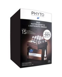 Phyto Phytologist 15 Antichute Lot de 2x12 Fioles