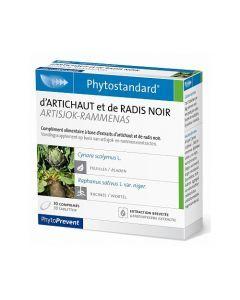 PhytoPrevent Phytostandard Artichaut / Radis Noir 30 comprimés