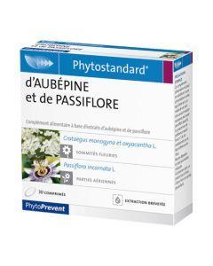 PhytoPrevent Phytostandard Aubépine / Passiflore 30 comprimés