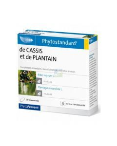PhytoPrevent Phytostandard Cassis / Plantain 30 comprimés