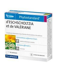 PhytoPrevent Phytostandard Eschscholtzia / Valériane 30 comprimés