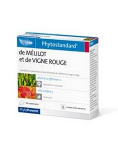 PhytoPrevent Phytostandard Mélilot / Vigne Rouge 30 comprimés