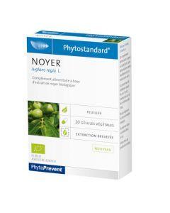 PhytoPrevent Phytostandard Noyer Bio 20 gélules végétales