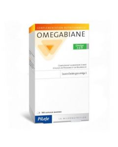 Pileje Omegabiane Oméga 3-6-9 100 Capsules