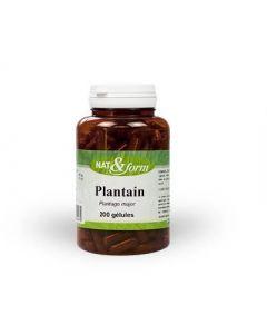 Nat&Form Plantain 120 Gélules
