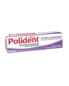 Polident Fixatif Hypoallergénique 40g