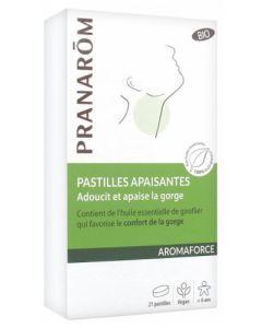 Pranarôm Aromaforce Pastilles Apaisante Bio 21 pastilles