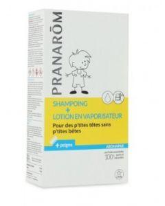 Pranarôm Aromapar Shampooing 125ml + Lotion Anti-poux 30ml + Peigne