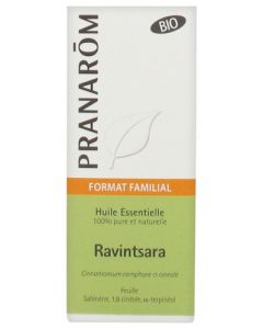 Pranarôm Huile Essentielle Bio Ravintsara Format Familial 30ml