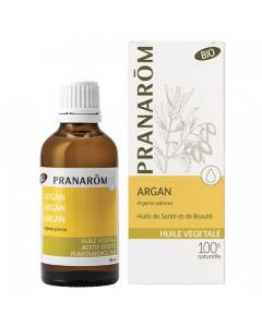 Pranarôm Huile Végétale Bio Argan 50ml