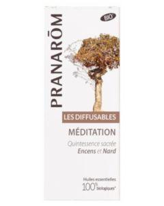 Pranarôm Les Diffusables Méditation Bio 30ml