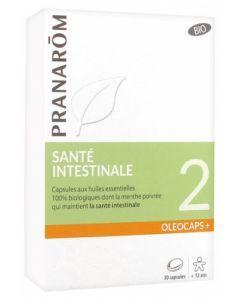 Pranarôm Oléocaps+ 2 Santé Intestinale Bio 30 Capsules