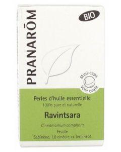 Pranarôm Perles d'Huiles Essentielles Ravintsara Bio 60 Capsules