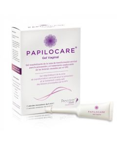 Papilocare Gel Vaginal 7 Canules Unidoses x 5ml