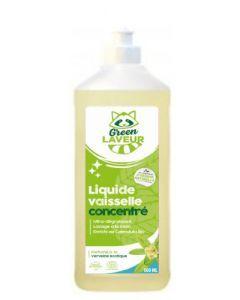 Green Laveur Liquide Vaisselle Concentré Verveine 1l