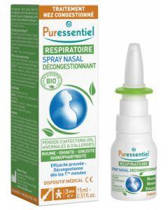Puressentiel Spray Nasal Décongestionnant 15ml