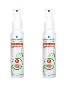 Puressentiel Circulation Spray Aux 17 Huiles Essentielles 2x100 Ml