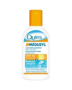Quiès Médusyl Double Protection Soleil & Méduse IP 30 120ml