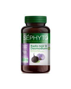 Séphyto Digestion & Détox Radis Noir & Desmodium Bio 200 Gélules